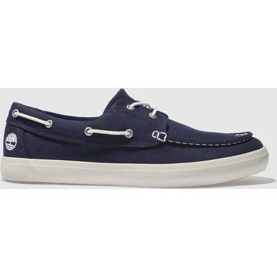 Timberland Navy Union Warf 2 Eye Boat Ox Shoes