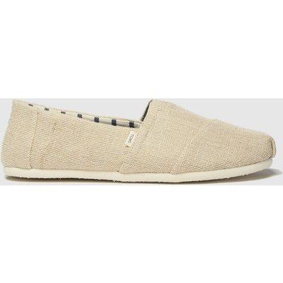 Toms Natural Alpargata Venice Shoes