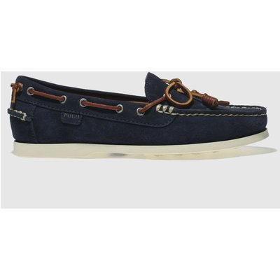 polo ralph lauren navy millard shoes - 5054458181205