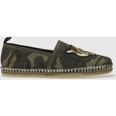 polo ralph lauren khaki barron shoes - 5054458181335