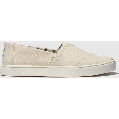 Toms Natural Alpargata Cupsole Shoes
