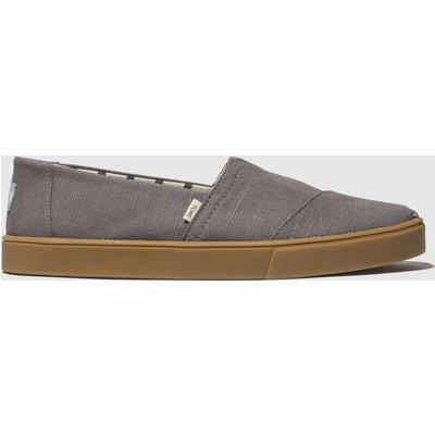 Toms Grey Alpargata Cupsole Shoes
