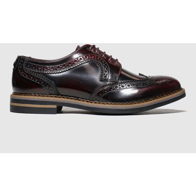 Base London Burgundy Kent Shoes