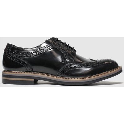Base London Black Kent Shoes