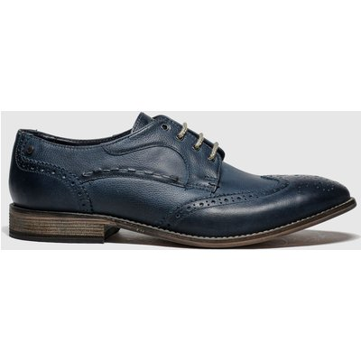 Base London Navy Kitchin Shoes