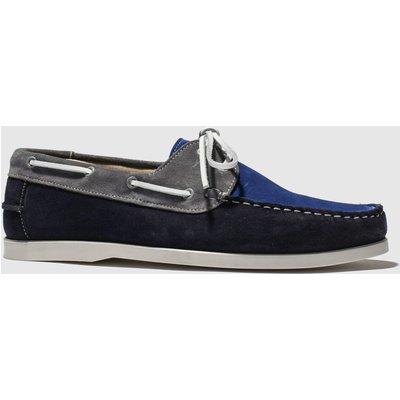 Schuh Navy & Grey Marbella Shoes
