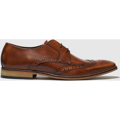 Ikon Tan Ramsay Brogue Shoes