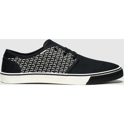 Toms Black & White Carlo Vegan Shoes