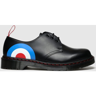 Dr Martens Black And Blue 1461 Who Shoes
