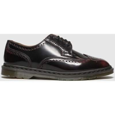 Dr Martens Burgundy Kelvin Ii Shoes
