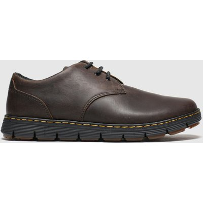 Dr Martens Brown Rhodes 3 Eye Shoes