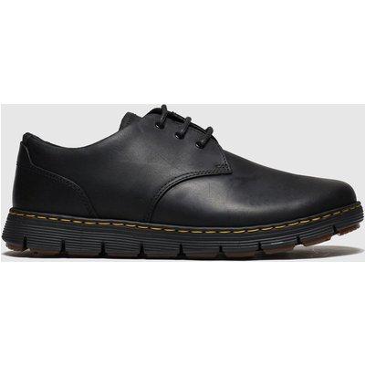Dr Martens Black Rhodes 3 Eye Shoes