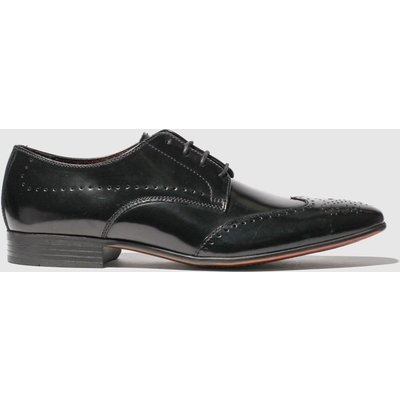 Schuh Black Letts Brogue Shoes