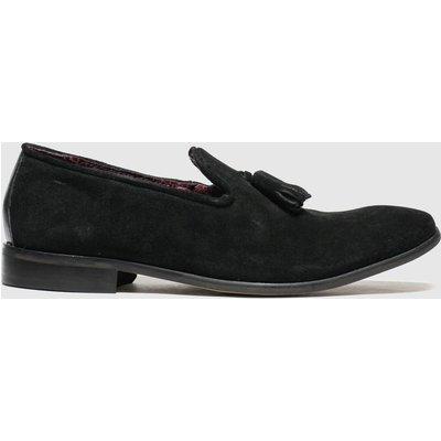 Schuh Black Catch Plain Toe Shoes