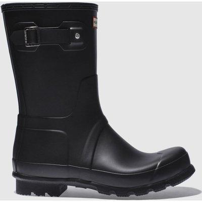Hunter Black Original Short Boots