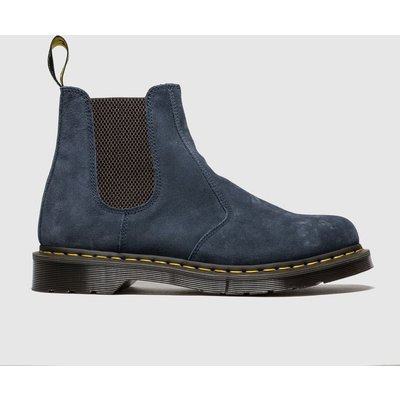 Dr Martens Navy 2976 Suede Chelsea Boot Boots