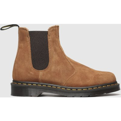 Dr Martens Tan 2976 Suede Chelsea Boot Boots