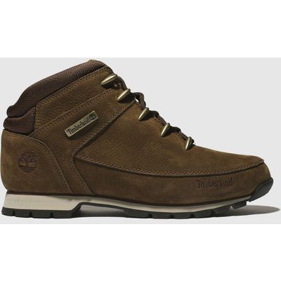 Timberland Brown Euro Sprint Hiker Boots