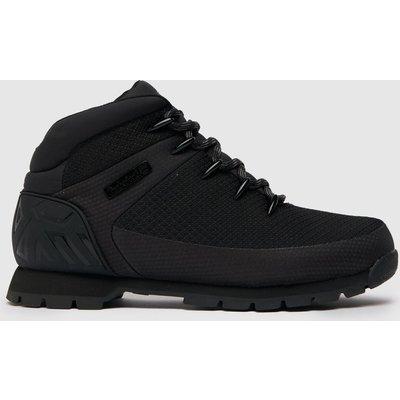 Timberland Black Euro Sprint Boots