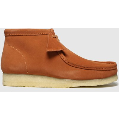 Clarks Originals Orange Wallabee Boots