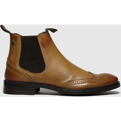 Base London Tan Mason Boots