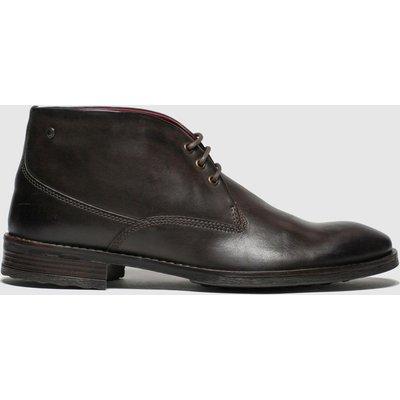 Base London Brown Bramley Boots