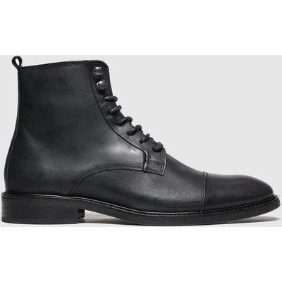 Schuh Black Malik Boots