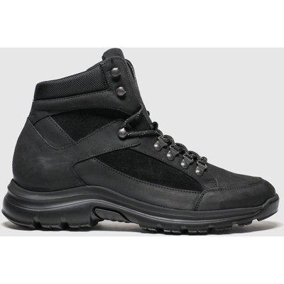 Schuh Black Calton Hiker Boots