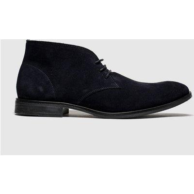 Schuh Navy Bayjee Chukka Boots