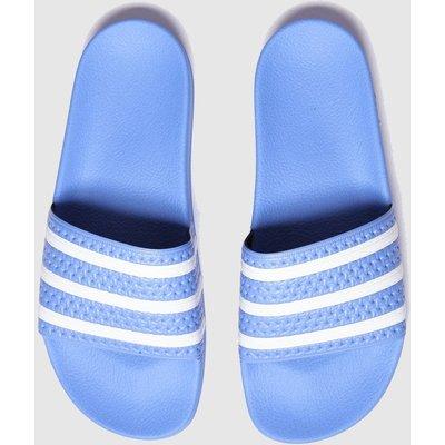 Adidas Blue Adilette Sandals
