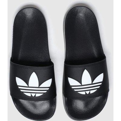 Adidas Black & White Adilette Lite Sandals