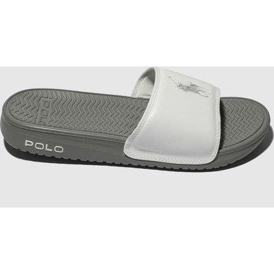 Polo Ralph Lauren White Rodwell Sandals