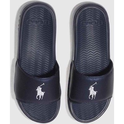 polo ralph lauren navy rodwell sandals - 5054457807045