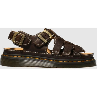Dr Martens Dark Brown 8092 Arc Sandals