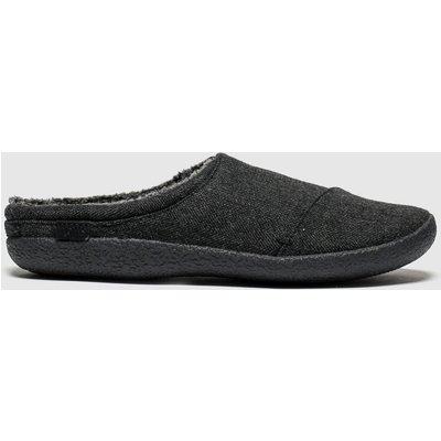 Toms Black & Grey Berkeley Slippers
