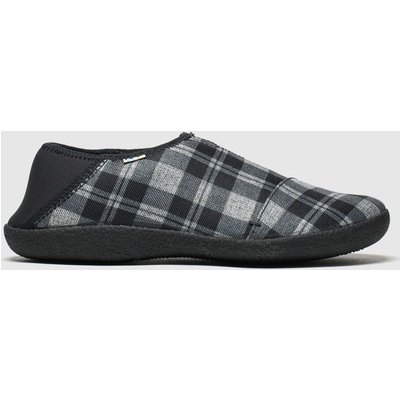 Toms Black & Grey Rodeo Slippers