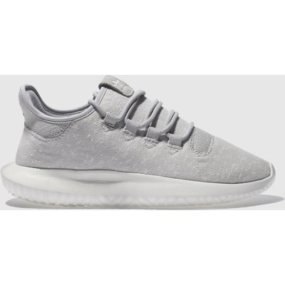 adidas light grey tubular shadow trainers - 4058025537069