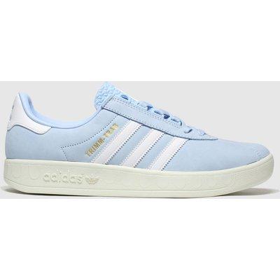 Adidas Pale Blue Trimm Trab Samstag Trainers