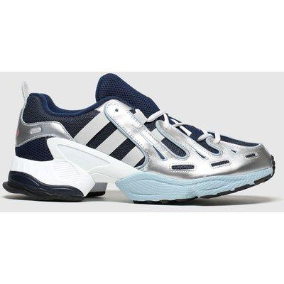 Adidas Grey & Navy Eqt Gazelle Trainers