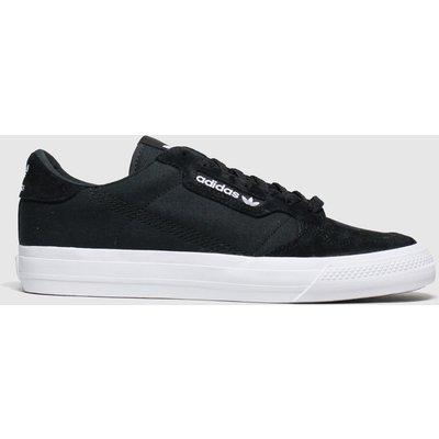 Adidas Black & White Continental 80 Vulc Trainers