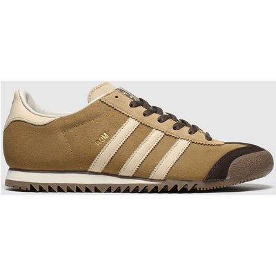 Adidas Brown & Stone Rom Trainers