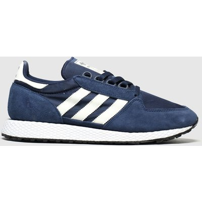 Adidas Navy & White Forest Grove Trainers
