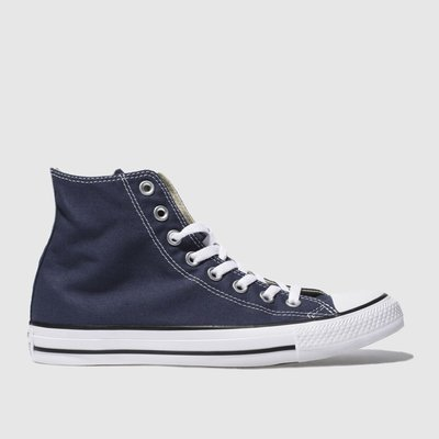 Converse Navy All Star Hi Top Trainers