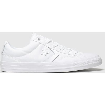 Converse White Star Player Trainers