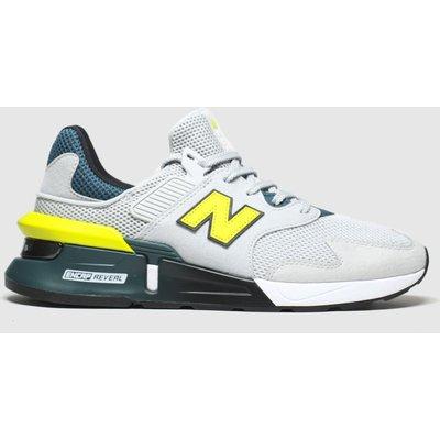 New Balance Light Grey 997 Trainers