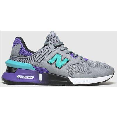 New Balance Grey 997 Trainers
