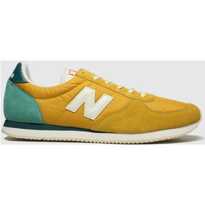 New Balance Yellow 220 Trainers