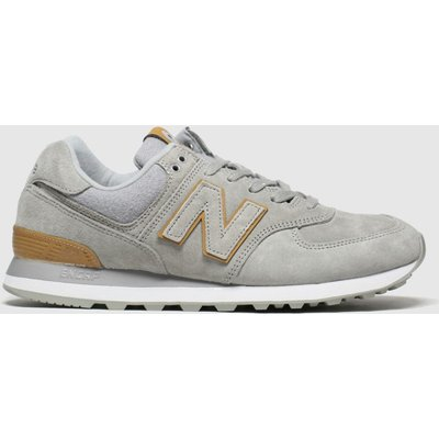 New Balance Brown & Grey 574 Trainers