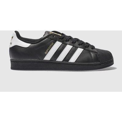 Adidas Black & White Superstar Foundation Trainers