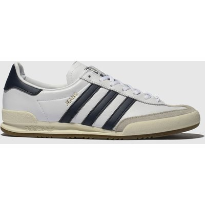 Adidas White & Navy Jeans Trainers